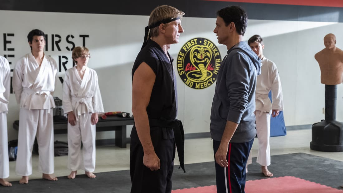 William Zabka and Ralph Macchio reunite in Cobra Kai.