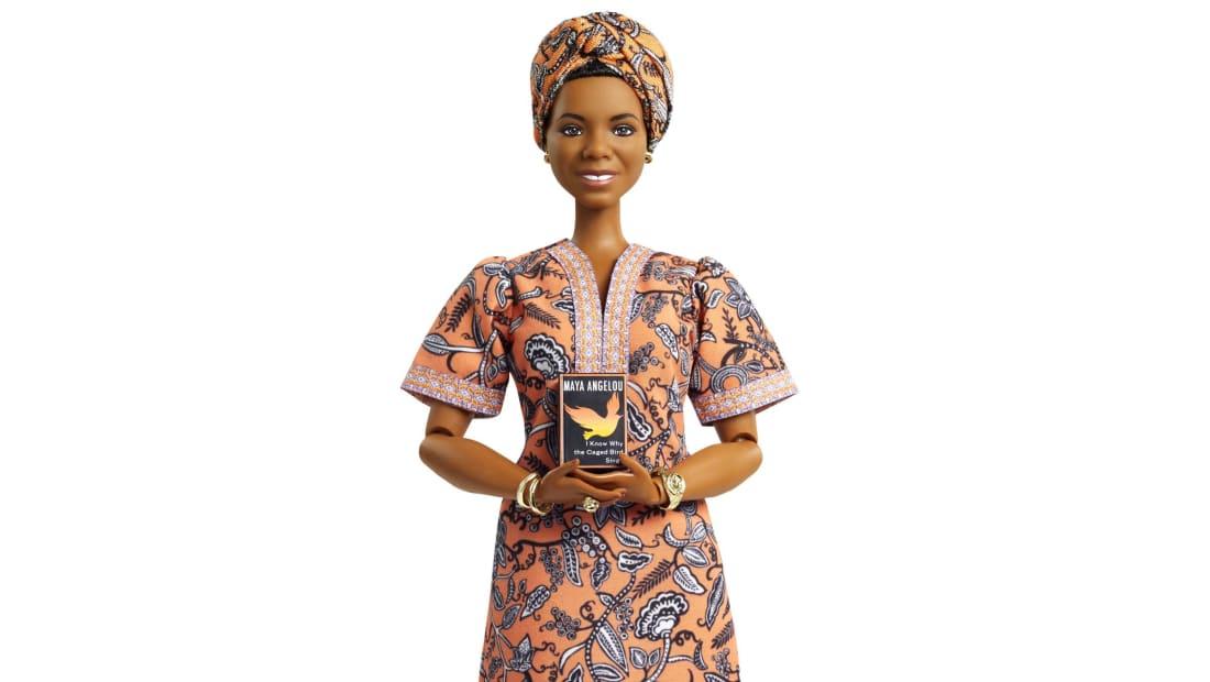 Maya Angelou in Barbie form.