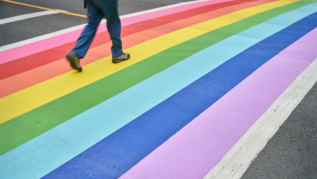 In Key West, rainbow crosswalks aren't just for Pride Month.