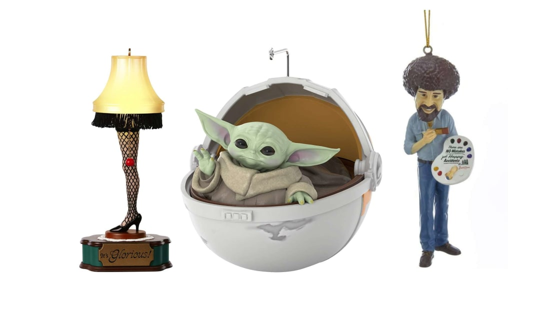 Christmas ornaments for every pop culture passion.