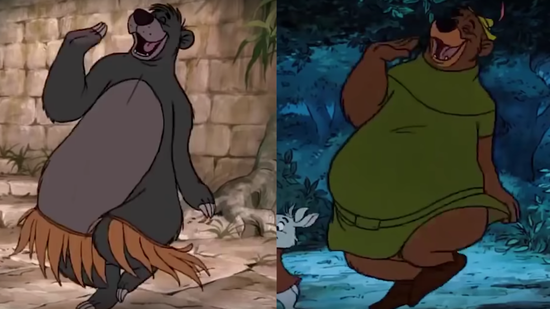 Some of Your Favorite Disney Characters and Scenes Might Be Recycled From Earlier Films