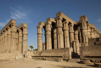 Egypt's famous Luxor Temple is one of the world's oldest temples.
