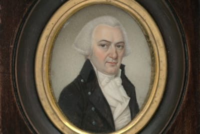 A painting of Gouverneur Morris by Pierre Henri, 1798.