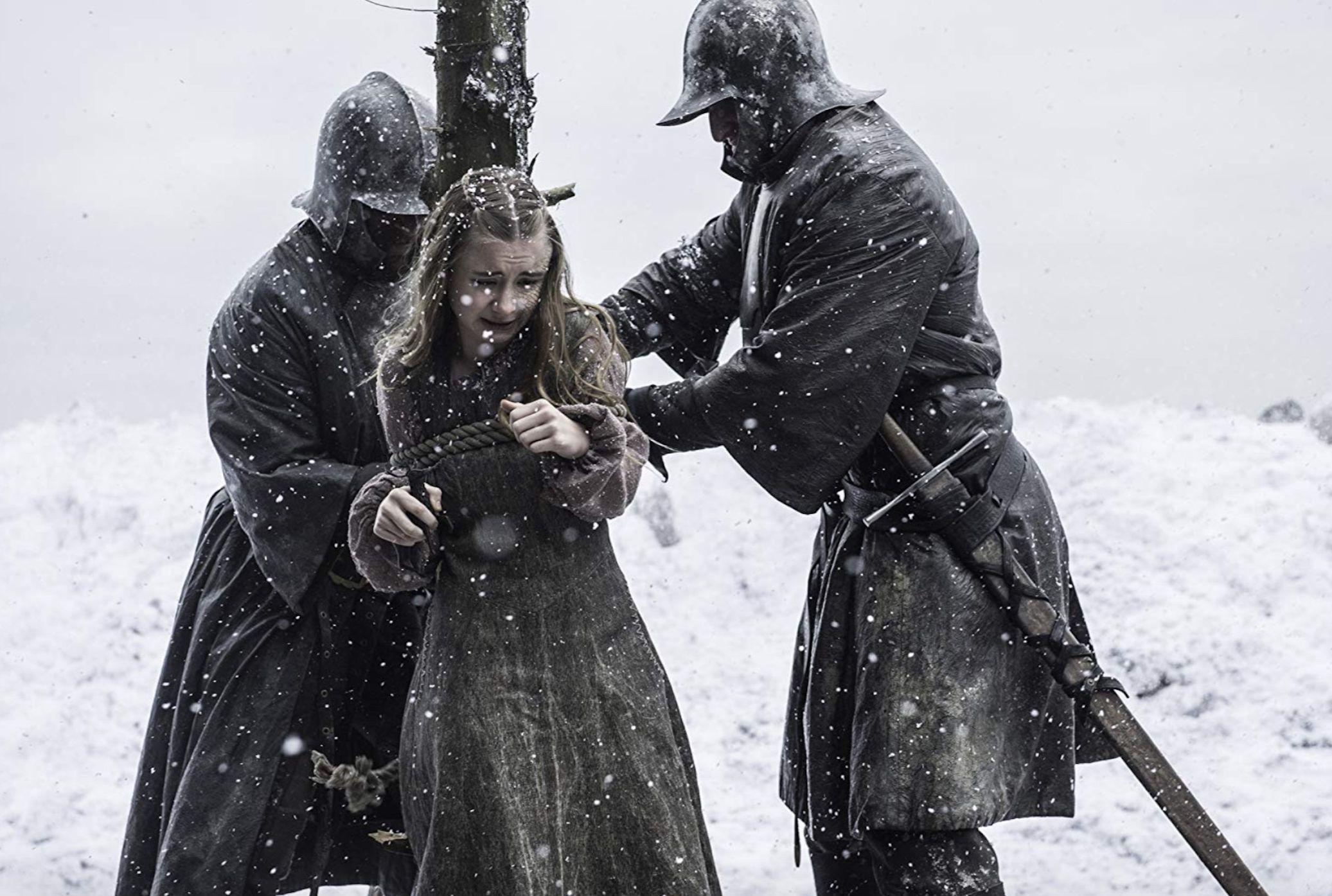 Kerry Ingram stars as Shireen Baratheon in Game of Thrones.