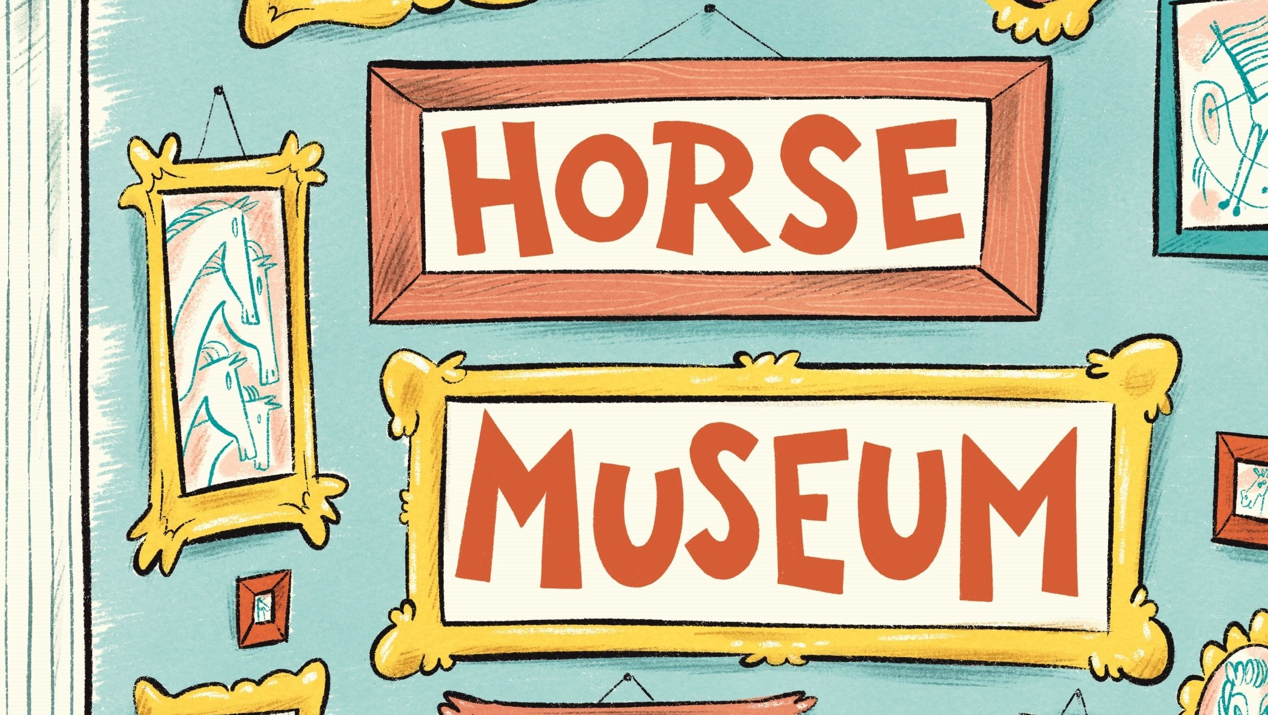 Brand-New Dr. Seuss Book, <em>Horse Museum</em>, Will Be Released This Fall