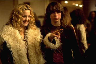 Kate Hudson and Patrick Fugit star in Cameron Crowe's Almost Famous (2000).