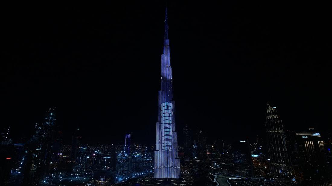 Godzilla: King of the Monsters takes over Dubai's Burj Khalifa.