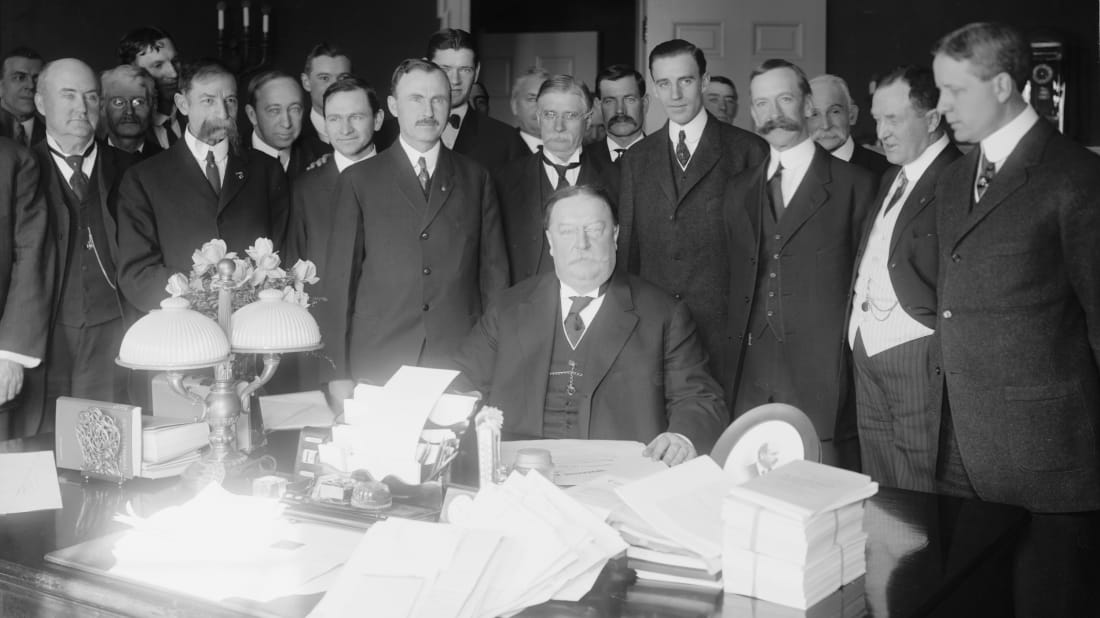 Harris & Ewing, Inc., Public Domain, Wikimedia Commons