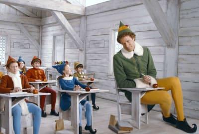 Will Ferrell in Elf (2003).