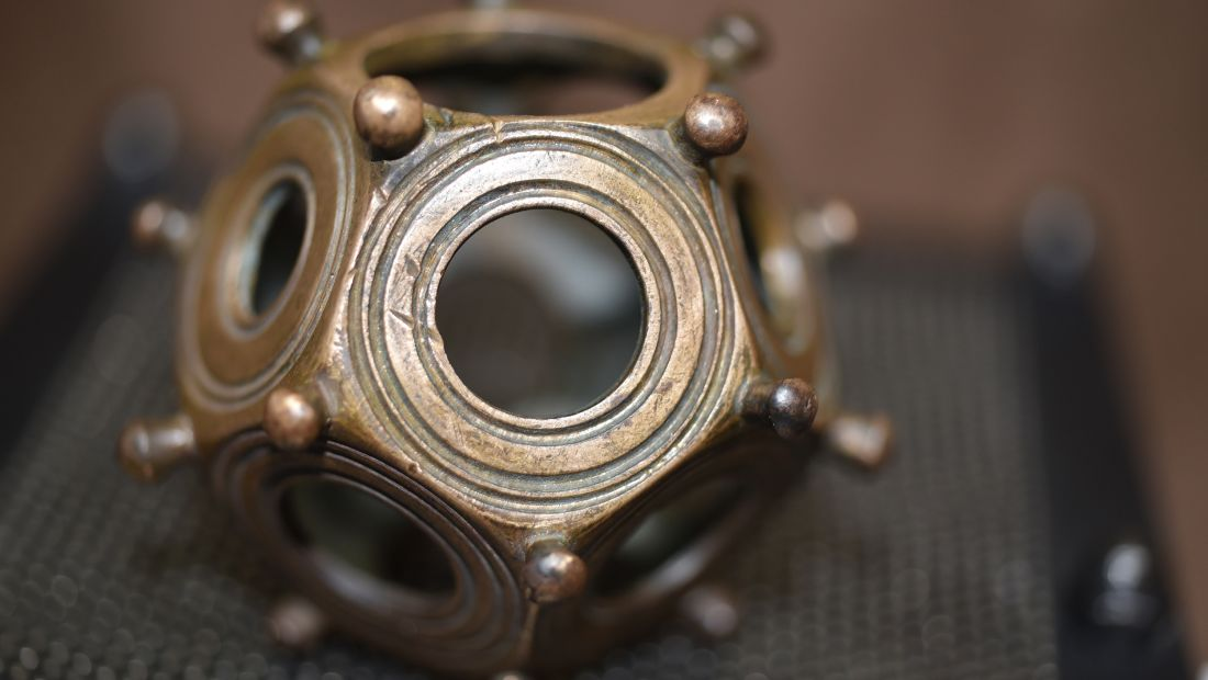 The Roman dodecahedron Brian Campbell found in East London