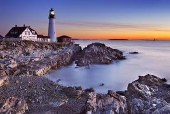 Maine's Portland Head Lighthouse.