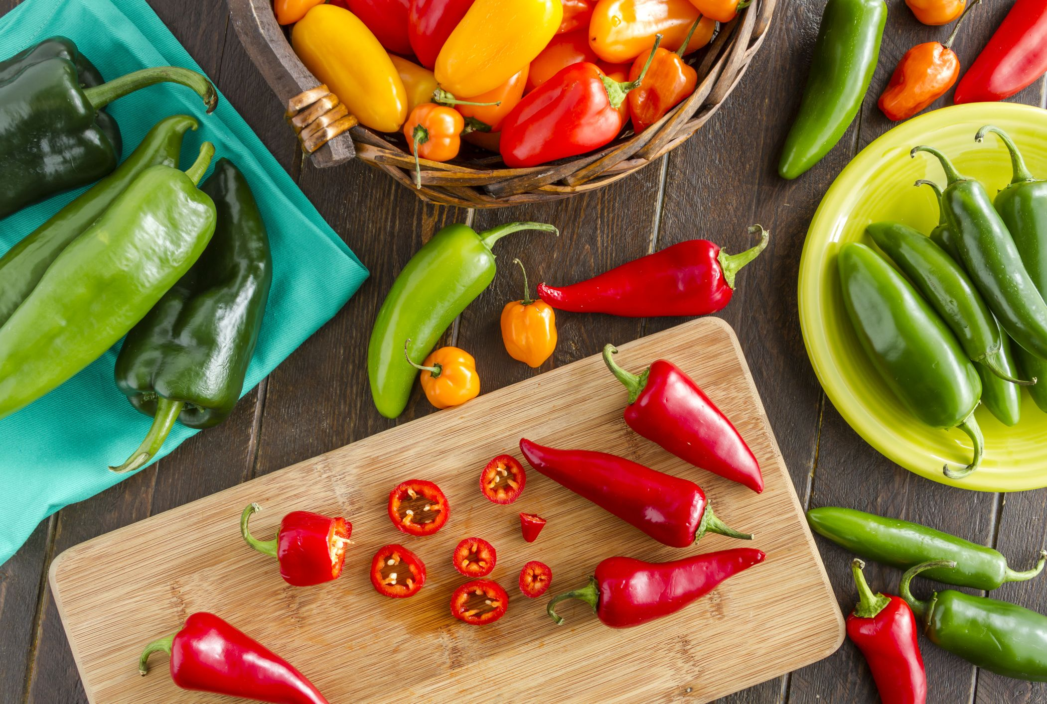Ranking 10 Peppers on the Scoville Scale | Mental Floss