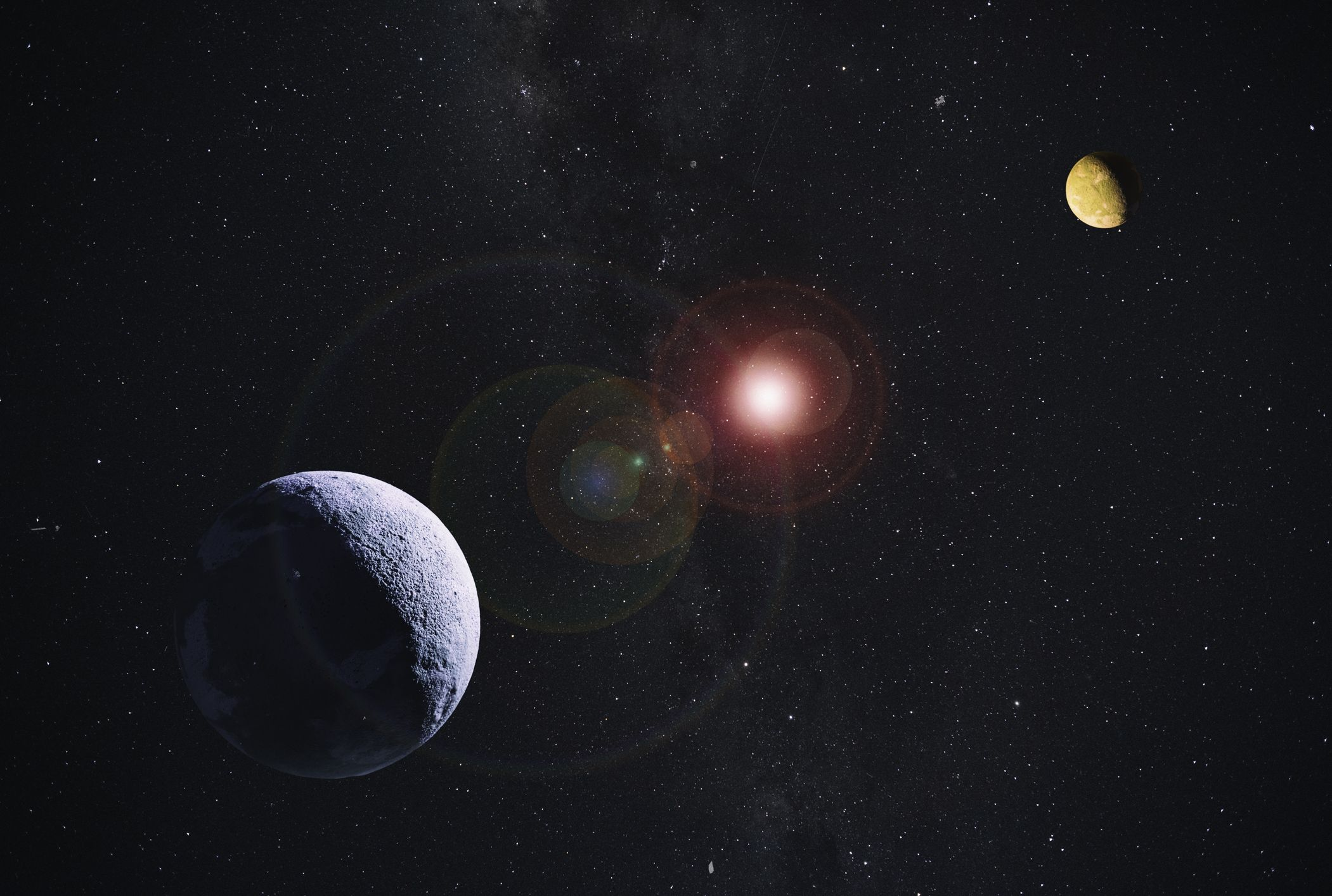 Does Einstein's Theory of Relativity Imply That Interstellar Space