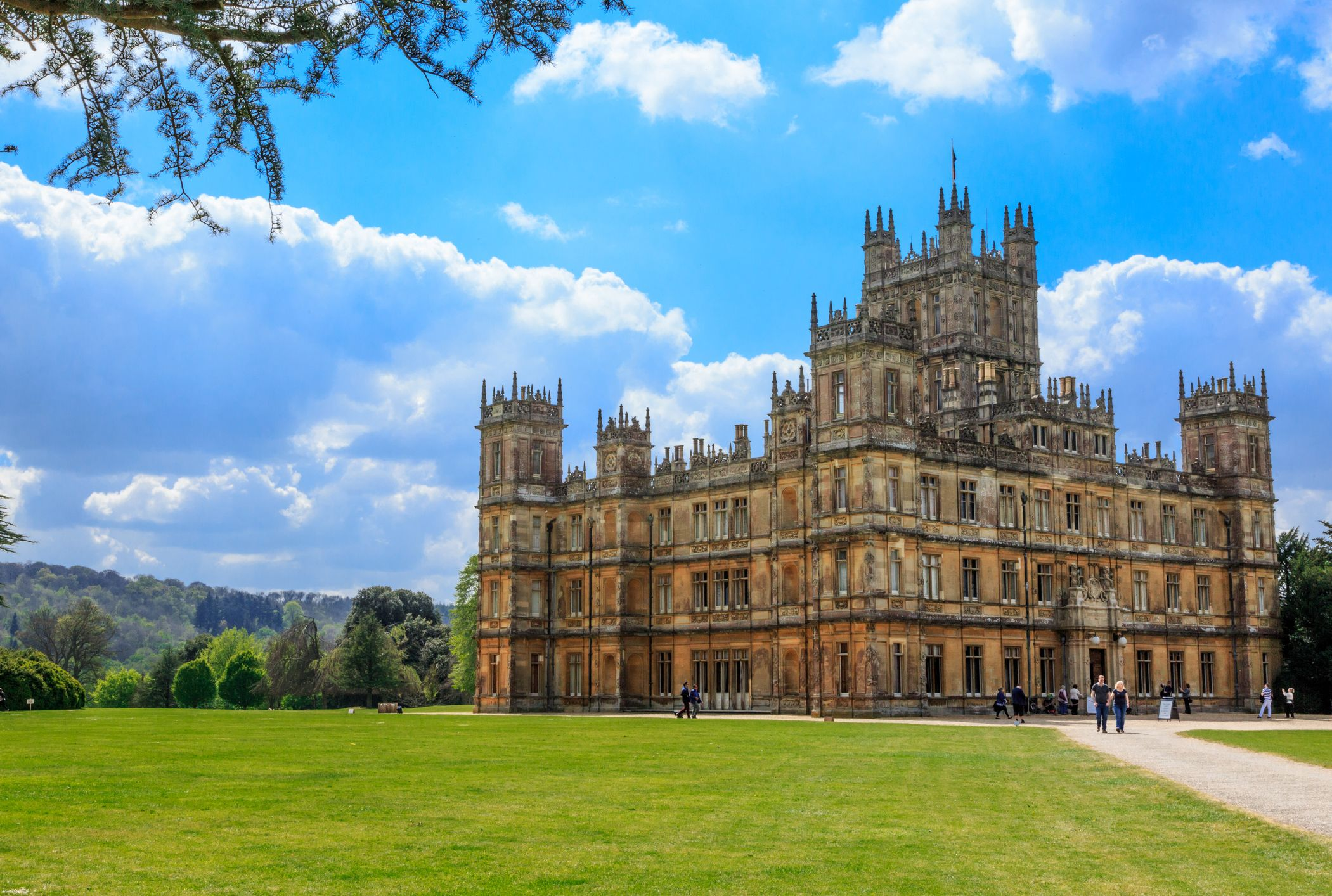 Highclere Castle The Real Life Downton Abbey Is Available To Rent
