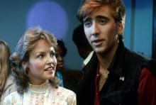 Deborah Foreman and Nicolas Cage are, like, totally bitchin' in Valley Girl (1983).