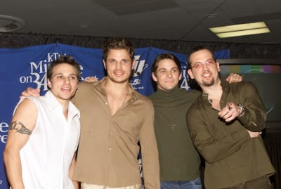 98 Degrees at Madison Square Garden in 2000.