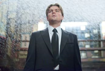Leonardo DiCaprio stars in Christopher Nolan's Inception (2010).