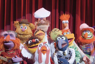 A scene from The Muppets (2011).