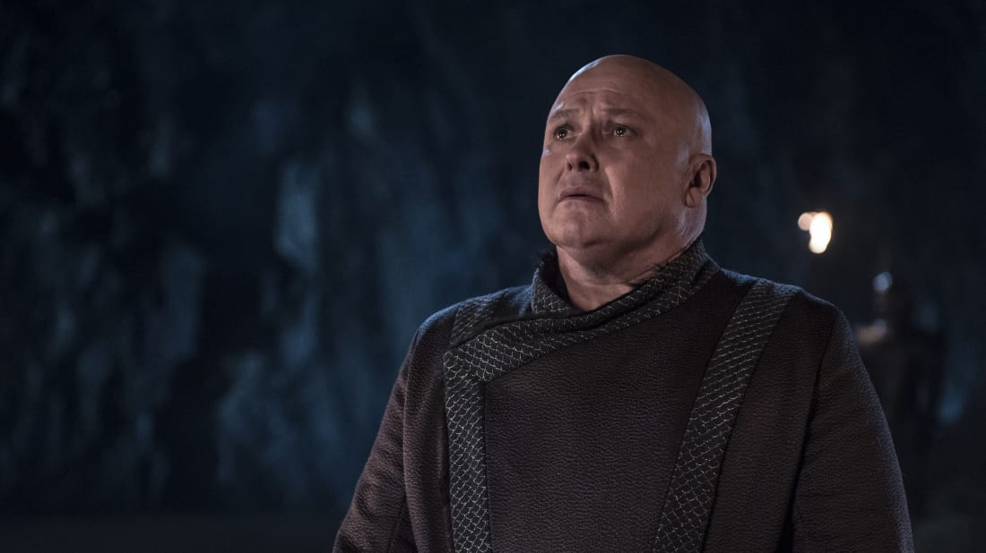 Conleth Hill as Lord Varys in Game of Thrones