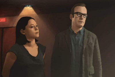Rosa Salazar and Bob Odenkirk star in Undone—in rotoscope.