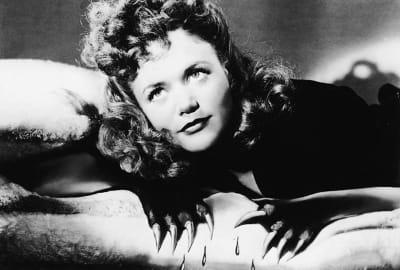 Simone Simon stars in Cat People (1942).