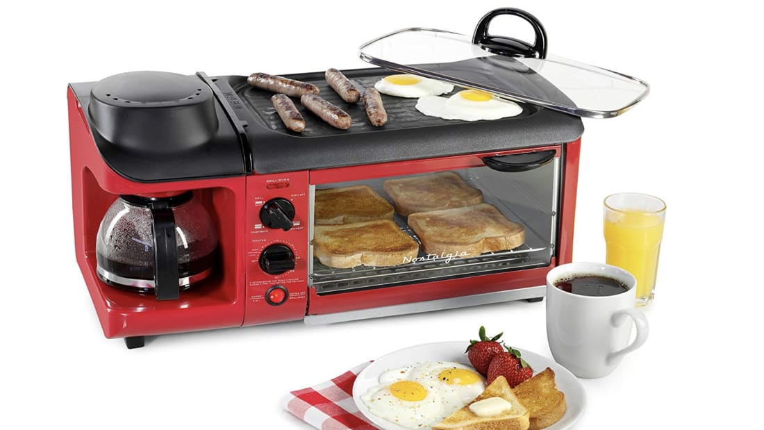 Prepare Your Entire Breakfast—Coffee Included—With One Efficient Appliance