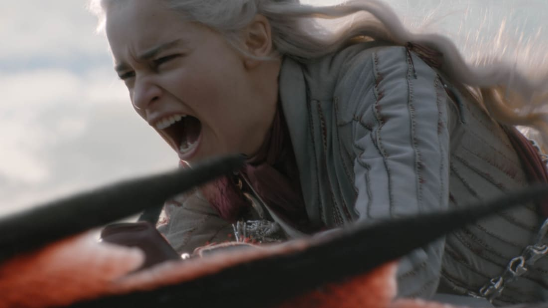 Emilia Clarke stars in Game of Thrones