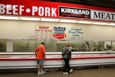 What do meat, dog beds, and underwear all have in common? Kirkland Signature.