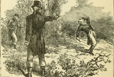 This time, it was Aaron Burr who did not throw away his shot.
