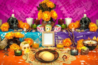 Sugar skulls are just one part of Día de los Muertos.