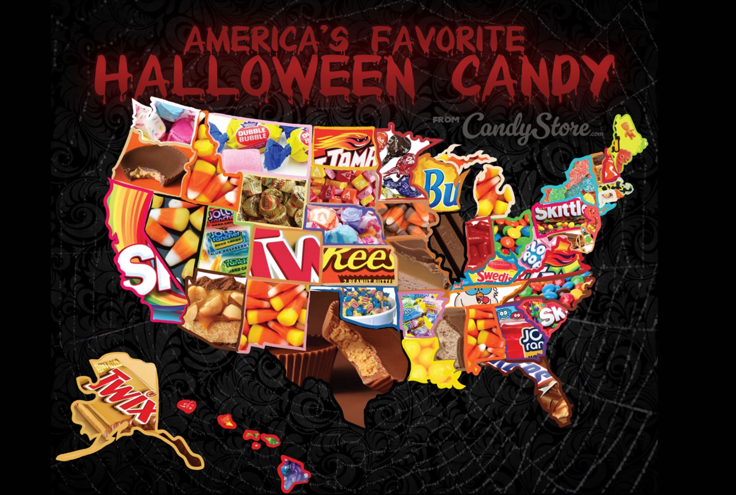 Halloween 2020 Favorite Or Top Or Best Or Greatest Candy The Most Popular Halloween Candy in Each State | Mental Floss