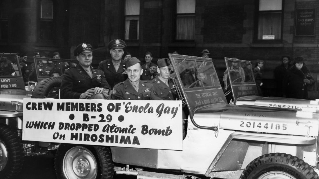 Men who flew on enola gay