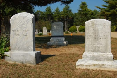 The Brown family was involved in New England's vampire panic.