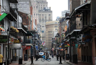 The French Quarter in New Orleans makes for a fabulous vacation spot, but Louisiana can be stressful for full-time residents.