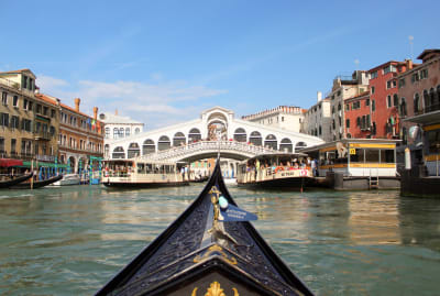 A gondola ride in Venice sounds as tranquil as it looks.