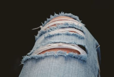 Ripped denim and bellbottoms have some unusual origins.
