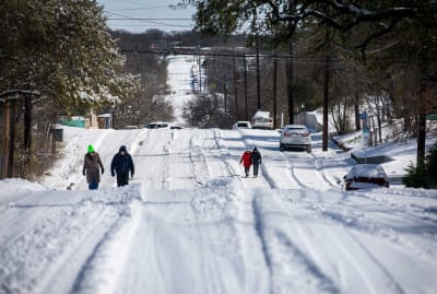 Austin, Texas, after winter storm Uri.