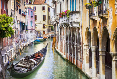 There's a gondola in Venice with your name on it.