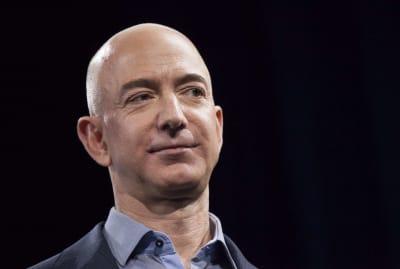 Jeff Bezos, world's richest man for the fourth year running.