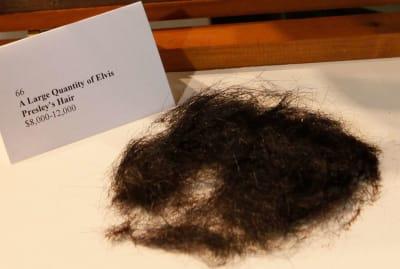 Elvis Presley's hair lives on.
