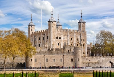 The Tower of London looms large within the city's history.