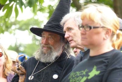 Christchurch's wizard, Ian Brackenbury Channell, in 2012.