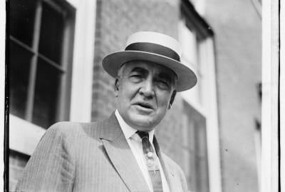 Warren G. Harding looking dapper in June 1920.