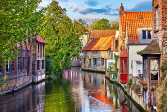A peek at Bruges, Belgium.