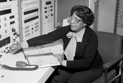 Mary W. Jackson at NASA in 1980.