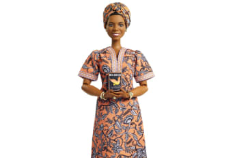 Maya Angelou in Barbie form.