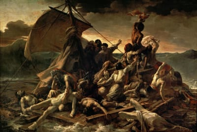 Jean-Louis André Théodore Géricault's The Raft of the Medusa