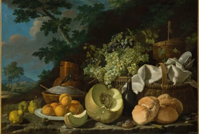 The Afternoon Meal (La Merienda) by Luis Meléndez, circa 1772