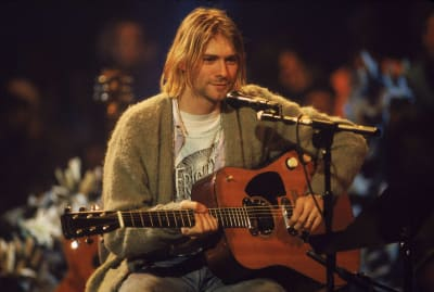 How much would you pay even just to touch the guitar that Kurt Cobain played during MTV Unplugged in New York?