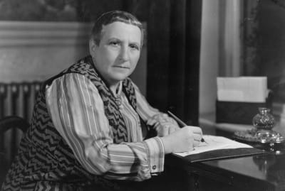 """Gertrude Stein made sure to work her signature phrase, """"a rose is a rose is a rose,"""" into her children's book, too."""